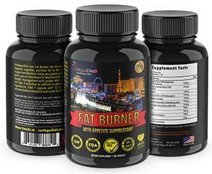 Fat Burner Appetite Suppressant 3 side versions LasVegasDiet.com