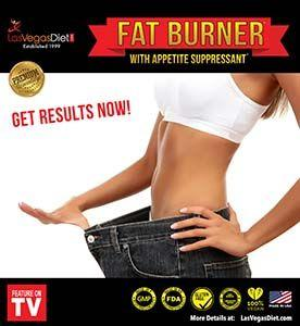 Fat Burner Appetite Suppressant Flyer LasVegasDiet.com
