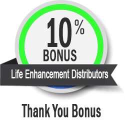 10% Bonus Life Enhancement Distributors LasVegasDiet.com